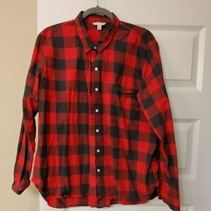 Gap Buffalo Plaid Top